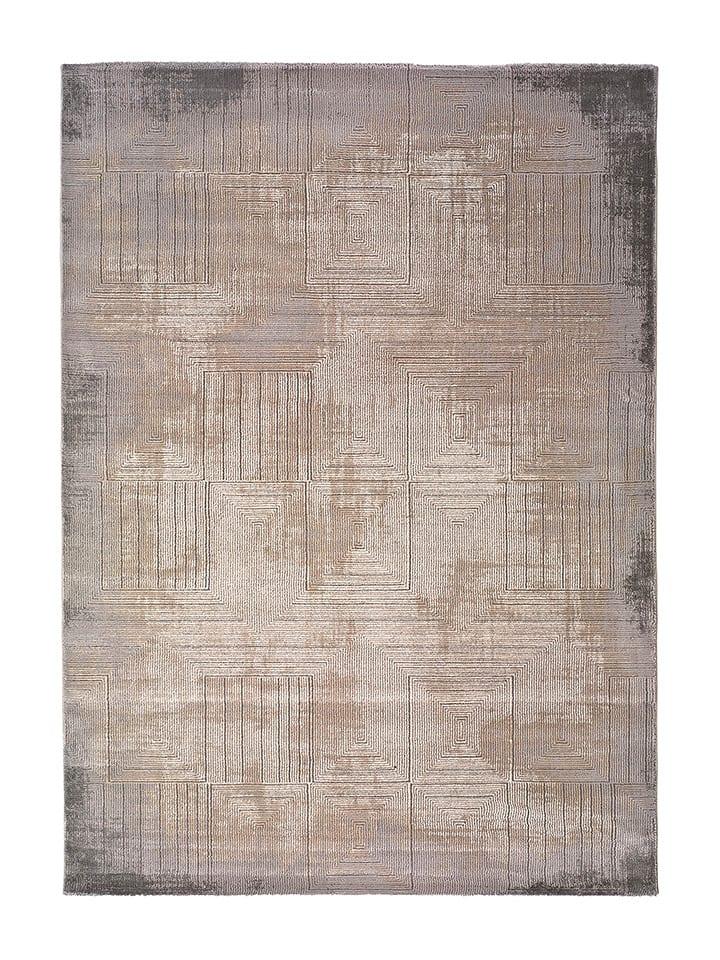 """Laagpolig tapijt """"Seti"""" grijs/meerkleurig"""
