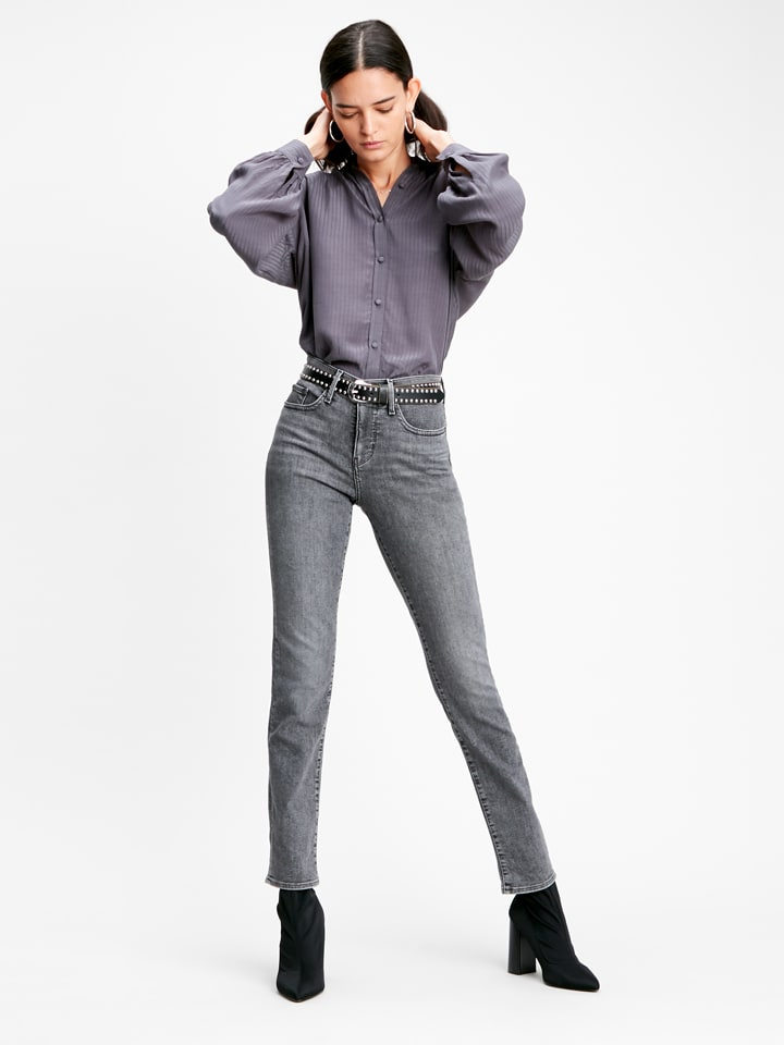 Levi´s Dżinsy - Slim fit - w kolorze szarym