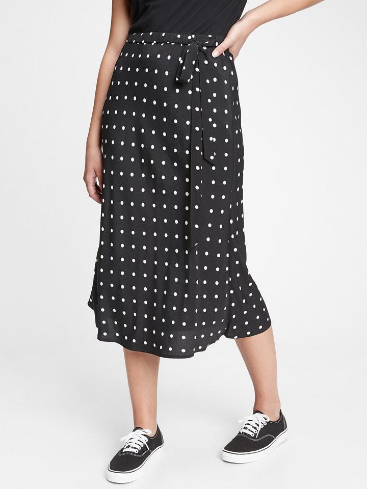 GAP Spódnica w kolorze czarno-białym