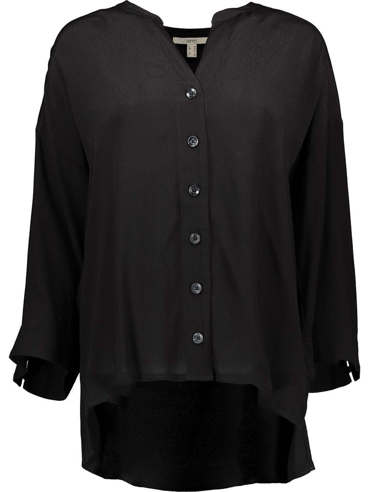ESPRIT Bluzka w kolorze czarnym