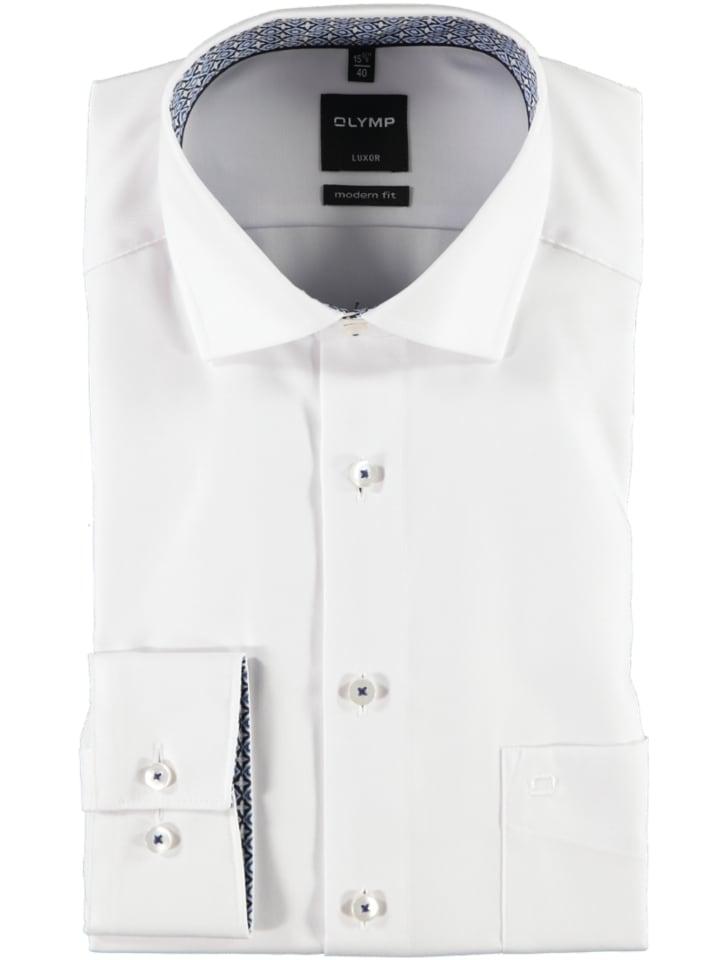 OLYMP Hemd - Modern fit - in Weiß