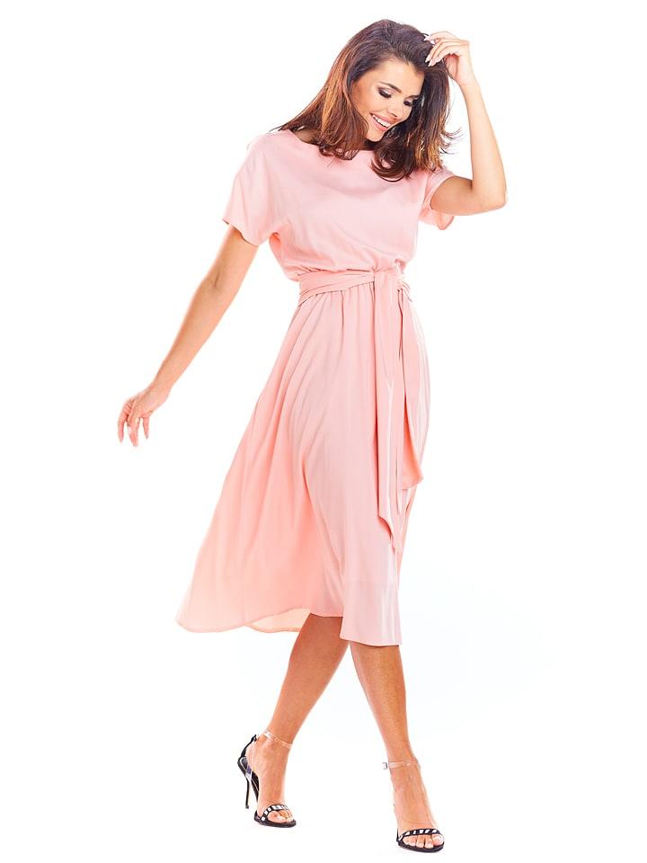 Awama Kleid in Rosa