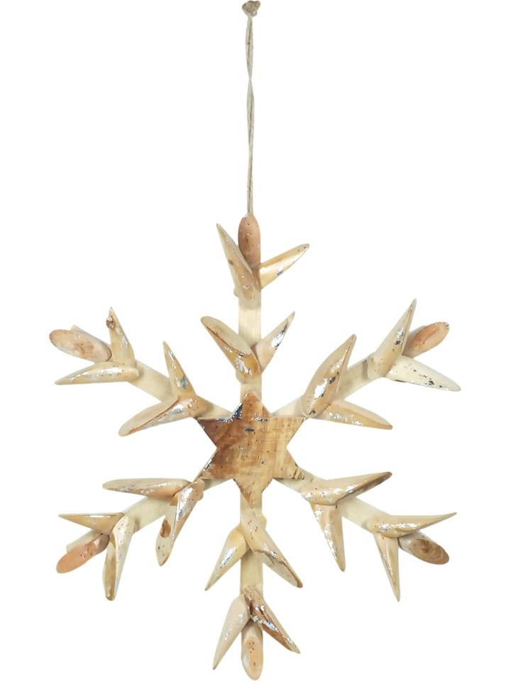 Signes Grimalt Zawieszka dekoracyjna w kolorze brązowo-srebrnym - 35 x 37 cm