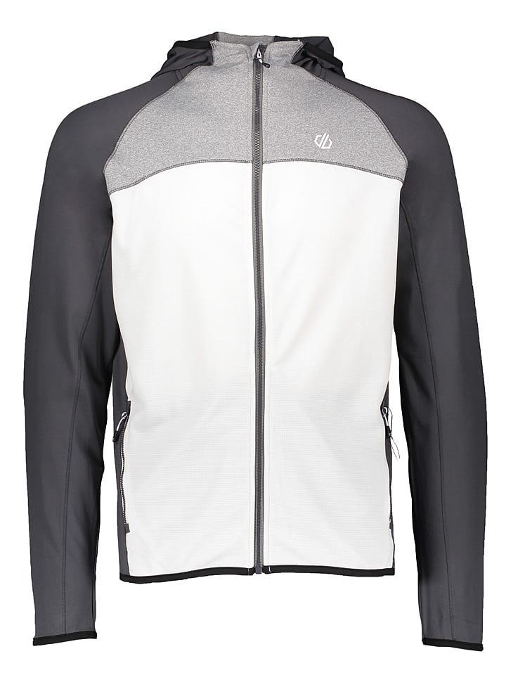 """Dare 2b Fleece vest """"Ratified II"""" grijs/wit"""