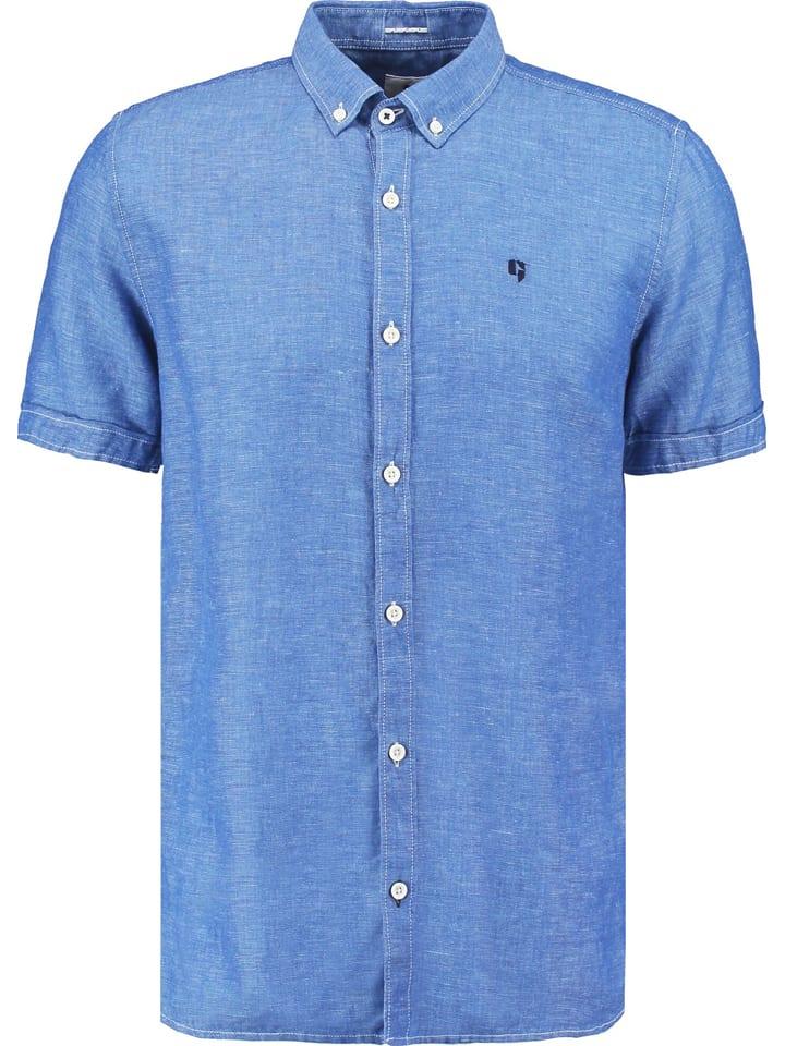 Garcia Koszula - Regular fit - w kolorze niebieskim