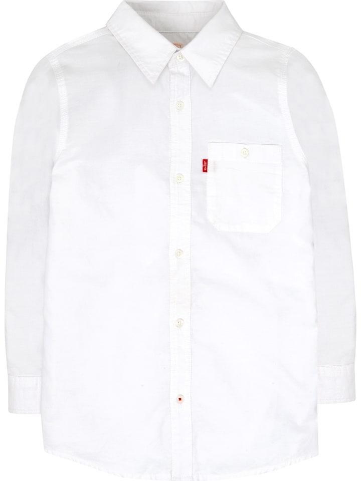 Levi's Kids Koszula w kolorze białym