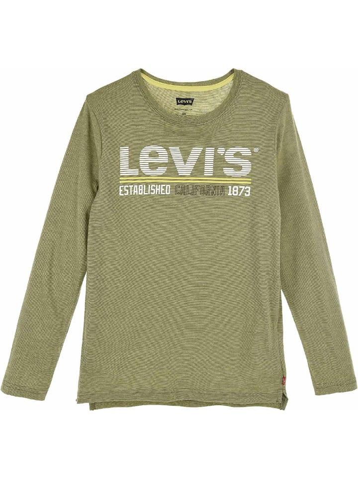 Levi's Kids Longsleeve kaki