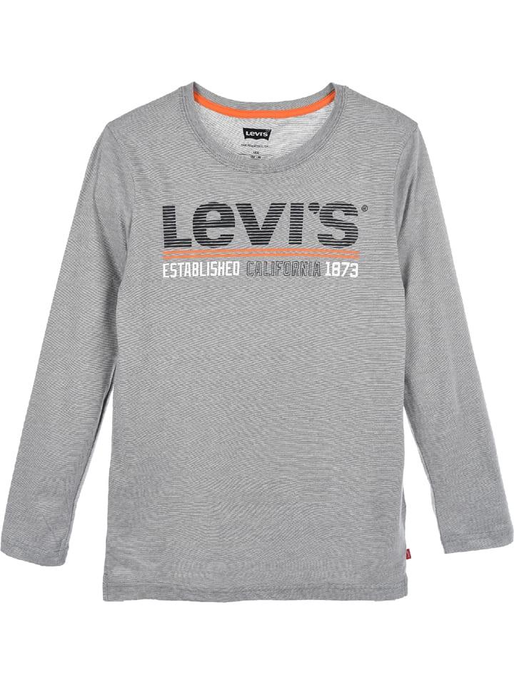 Levi's Kids Longsleeve in Grau