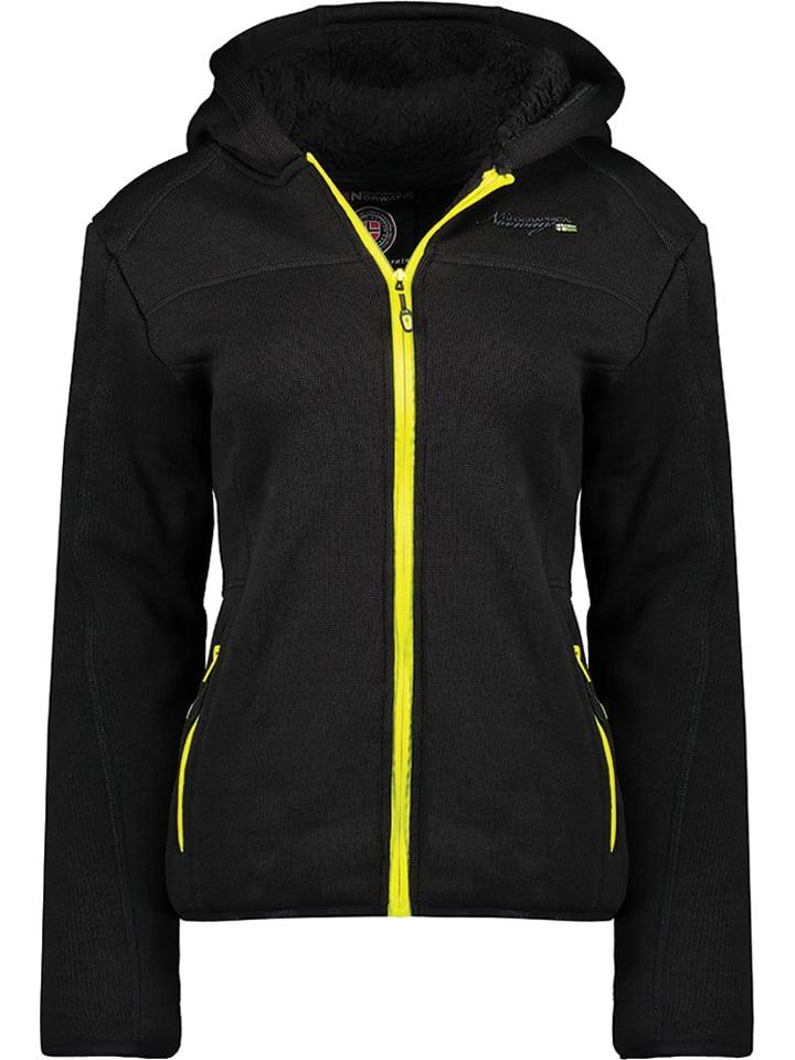 """Geographical Norway Fleece vest """"Torche"""" zwart"""