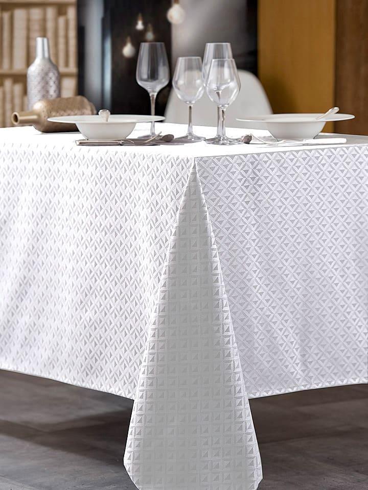 Calitex Tafelkleed wit