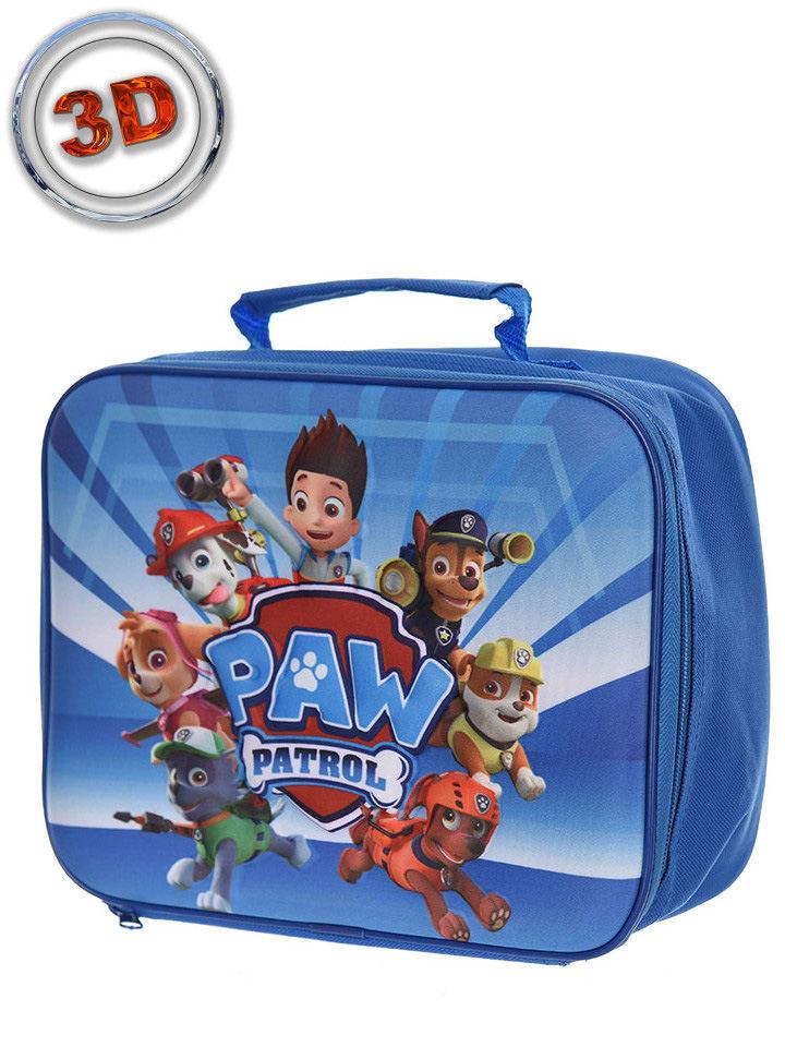 """Paw Patrol Walizka """"Paw Patrol"""" w kolorze niebieskim - 24,5 x 19,5 x 8,5 cm"""