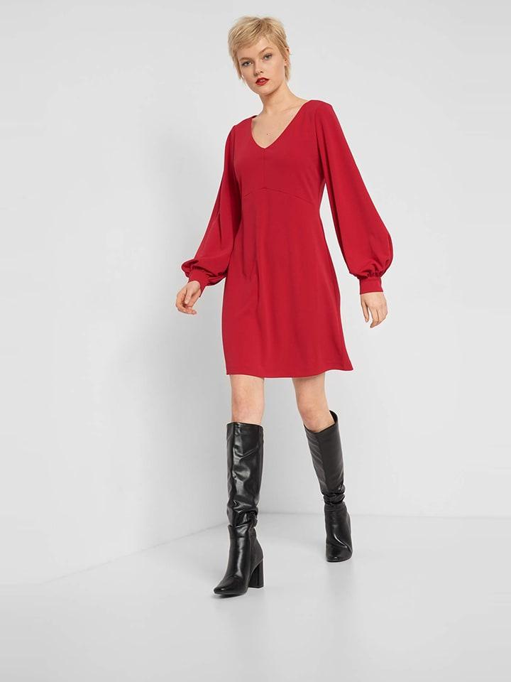 Orsay Sukienka w kolorze czerwonym