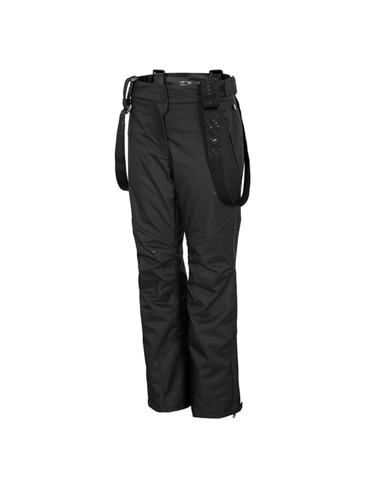 4F Ski-/snowboardbroek zwart