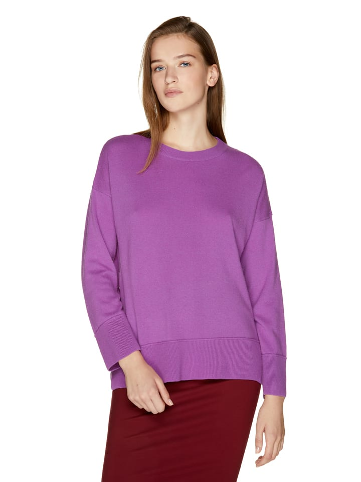 Benetton Sweter w kolorze fioletowym