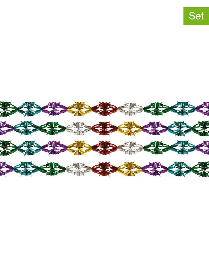 Amscan 2-delige set: slingers meerkleurig