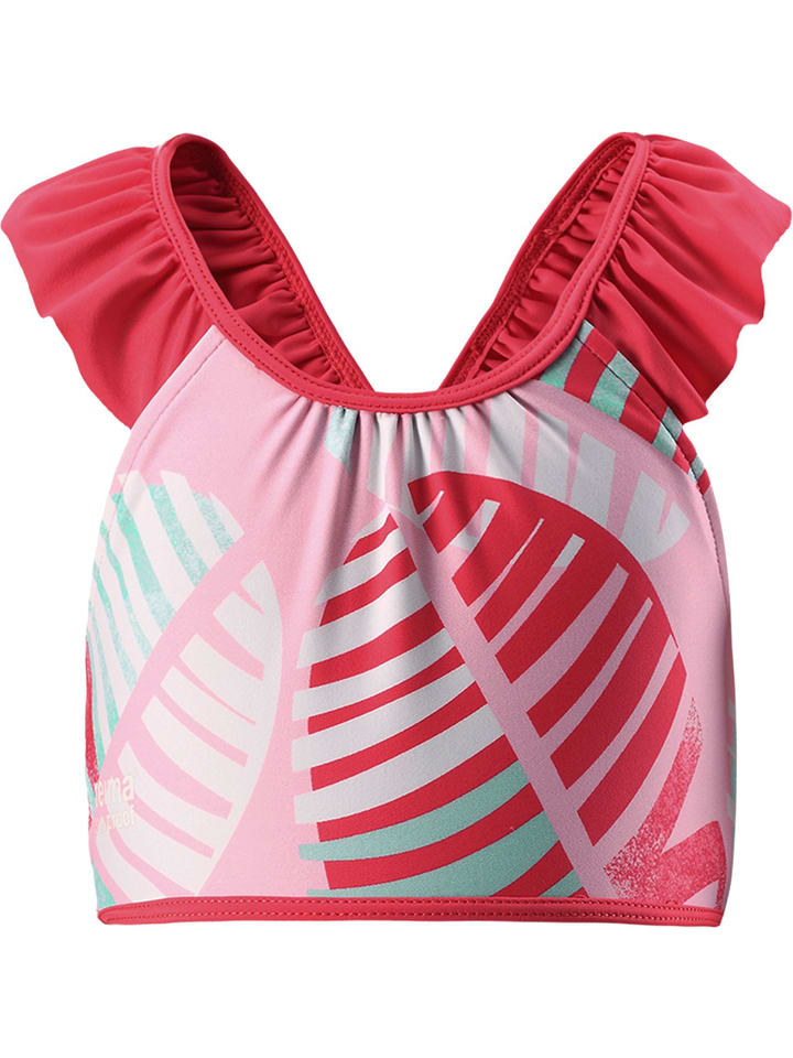 """Reima Top bikini """"Calamari"""" w kolorze czerwonym"""