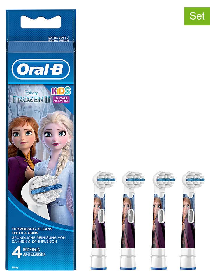 """Oral-B 4-delige set: opzetborstels """"Kids Frozen - volledig ontdooid"""" meerkleurig"""