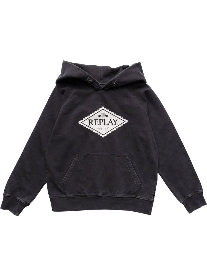 Replay & Sons Sweatshirt in Anthrazit