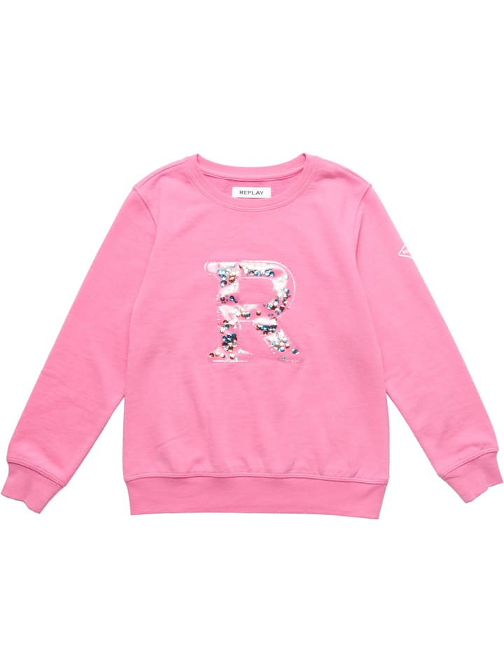 Replay & Sons Sweatshirt in Rosa