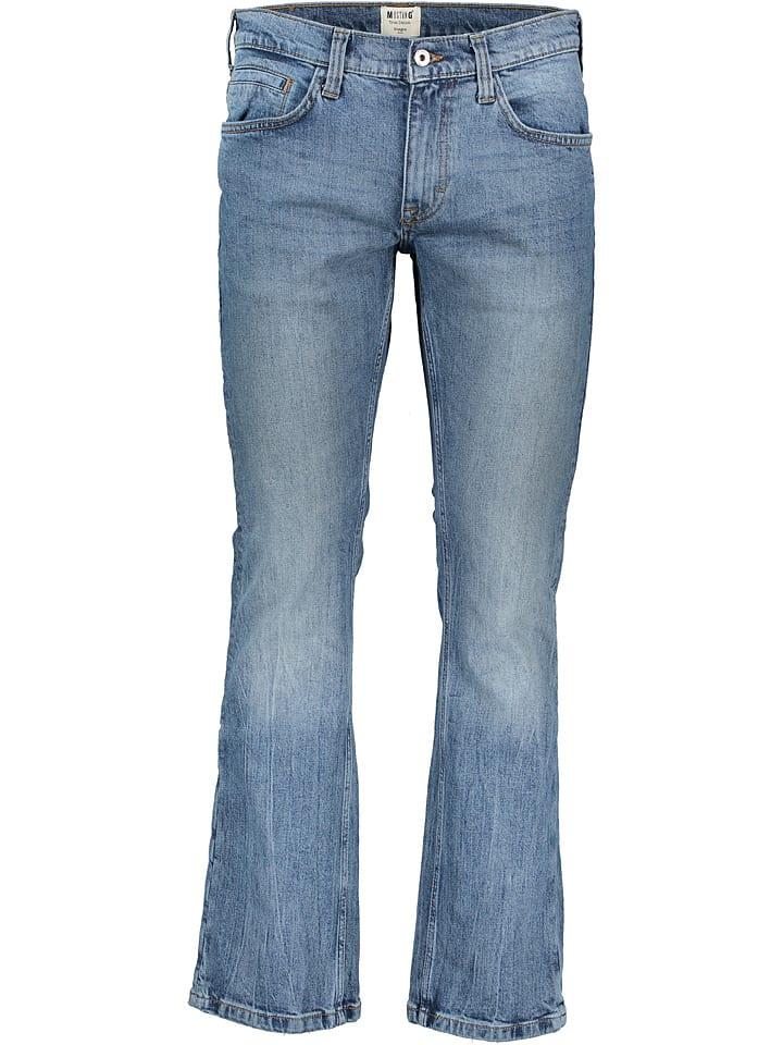 "Mustang Dżinsy ""Oregon"" - Comfort fit - w kolorze błękitnym"