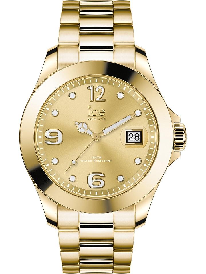 """Ice Watch Zegarek kwarcowy """"Classic"""" w kolorze złotym"""