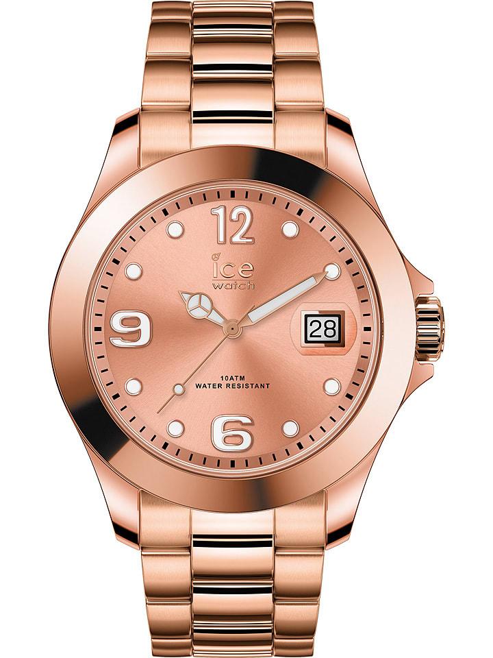 """Ice Watch Zegarek kwarcowy """"Classic"""" w kolorze różowozłotym"""
