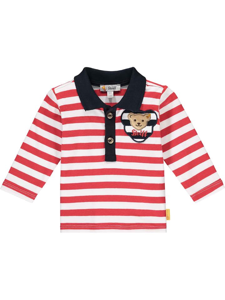 Steiff Koszulka polo w kolorze czerwonym