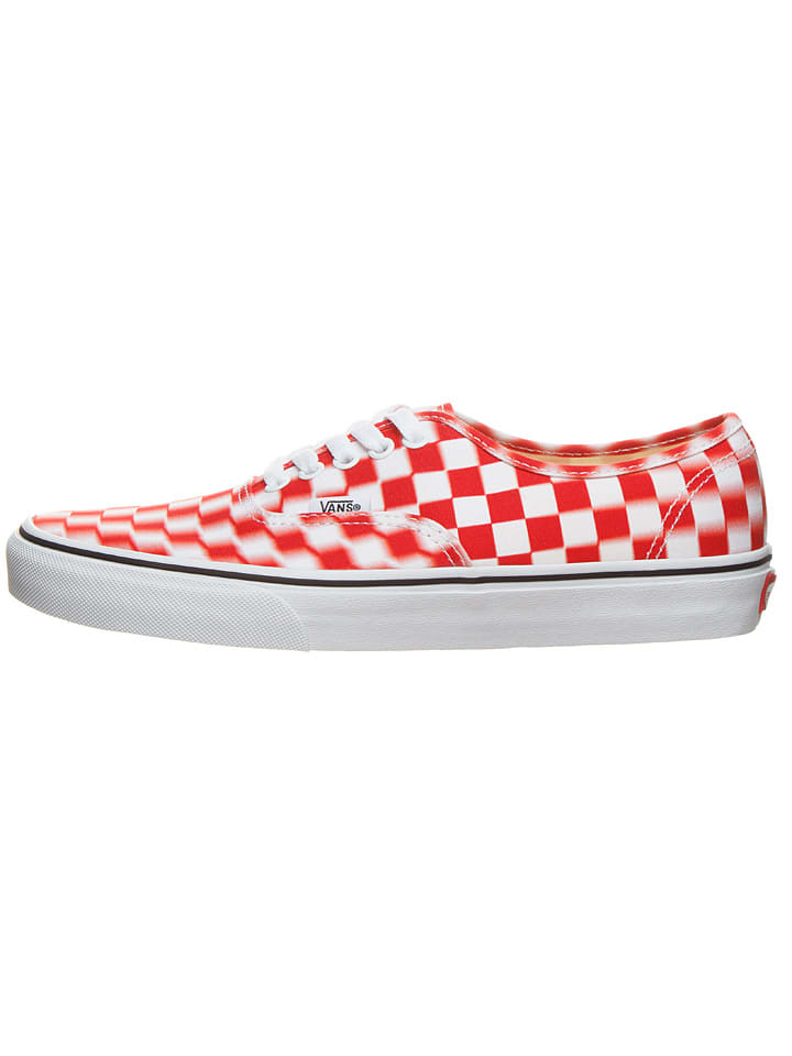 "Vans Sneakers ""Athentic"" rood"