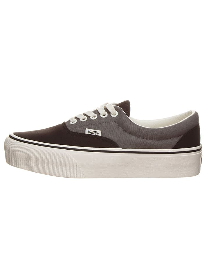 "Vans Sneakers ""Era Plattform"" in Schwarz/ Grau"