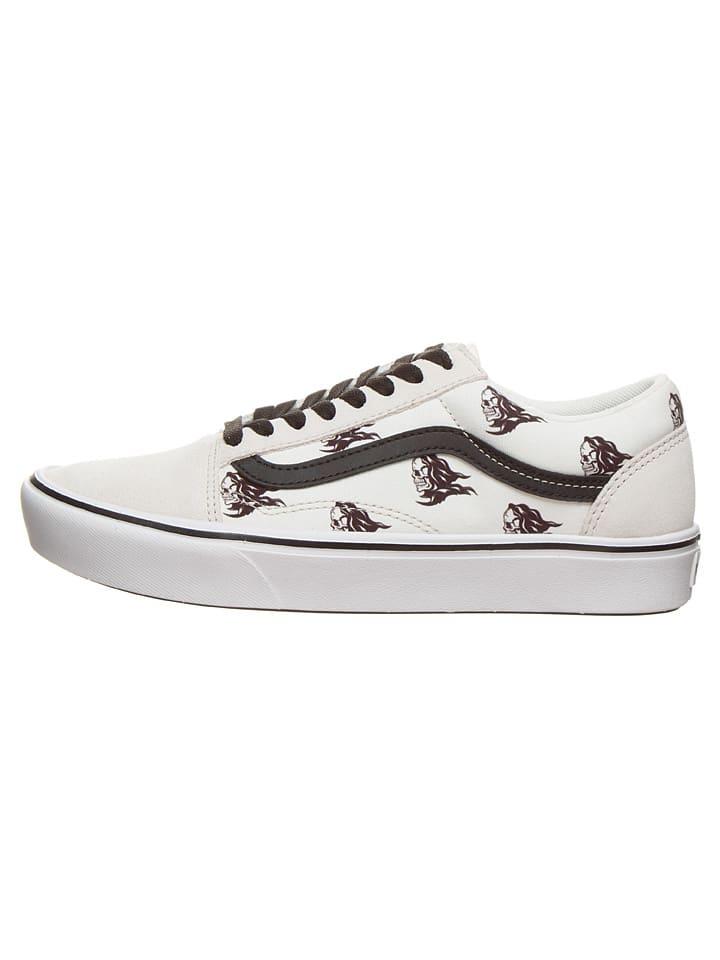 "Vans Sneakers ""Comfycush Old Sko"" in Weiß/ Schwarz"