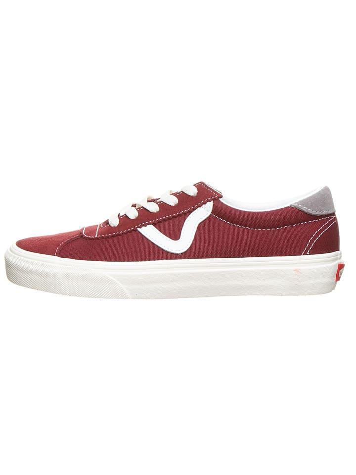 "Vans Sneakers ""Vans Sport "" donkerrood"