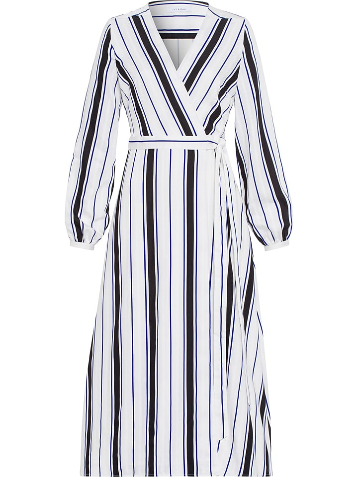 IVY & OAK Sukienka w kolorze biało-czarnym