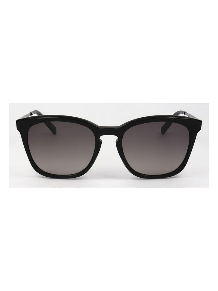 """Karl Lagerfeld Okulary przeciwsłoneczne """"KL896S"""" w kolorze czarno-srebrno-szarym"""
