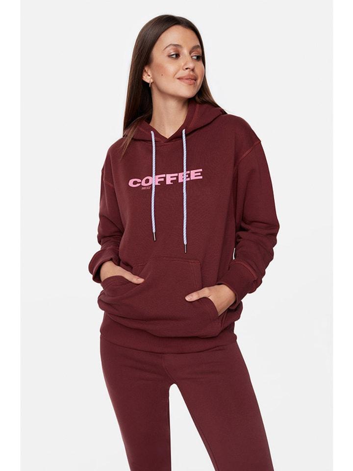"""PLNY LALA Bluza """"Coffee"""" w kolorze brązowym"""