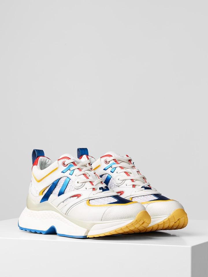 """Karl Lagerfeld Sneakers """"Aventur Delta Lo Mix"""" wit/meerkleurig"""