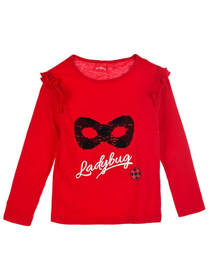 "Miraculous Longsleeve ""Ladybug"" rood"