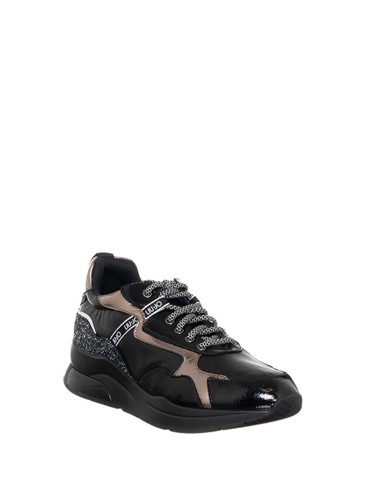 Liu Jo Sneakersy w kolorze czarno-szarym