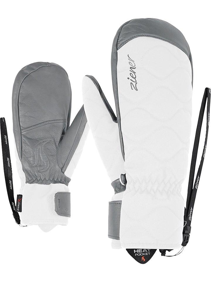 """Ziener Ski-/ Snowboardfäustlinge """"Kristy"""" in Weiß"""