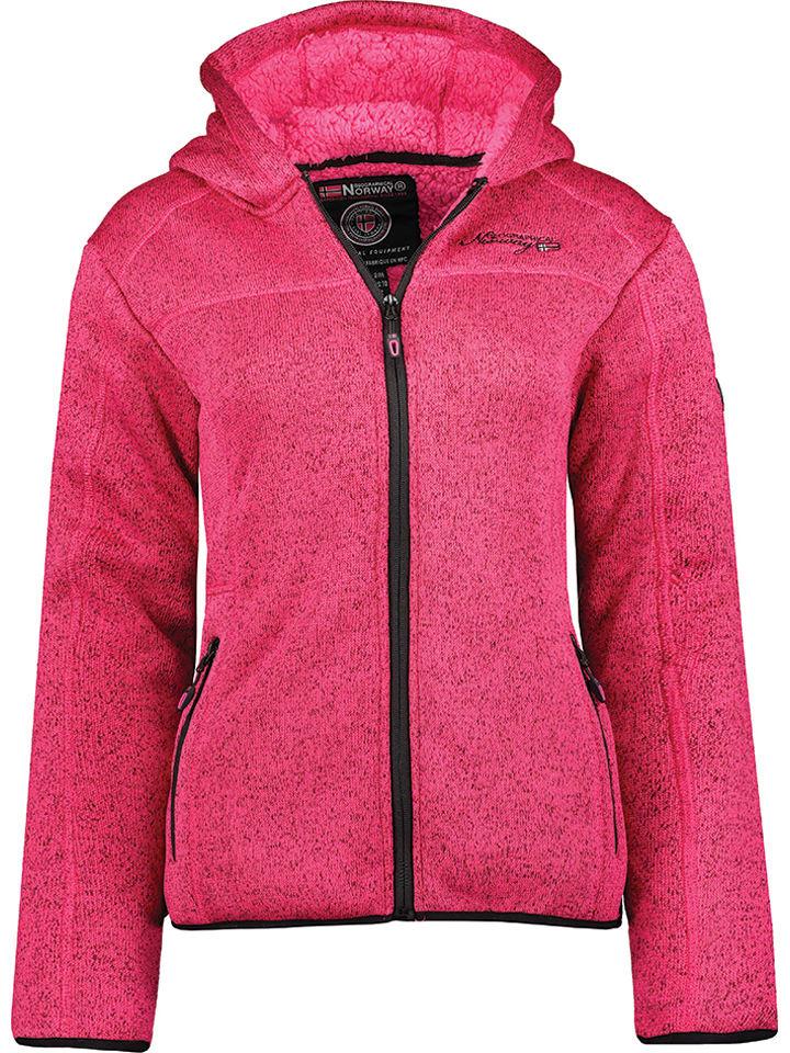 "Geographical Norway Fleecejacke ""Torche"" in Pink"