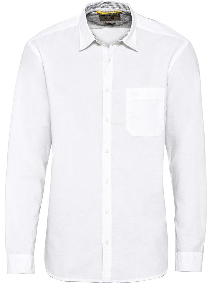 Camel Active Koszula - Slim fit - w kolorze białym