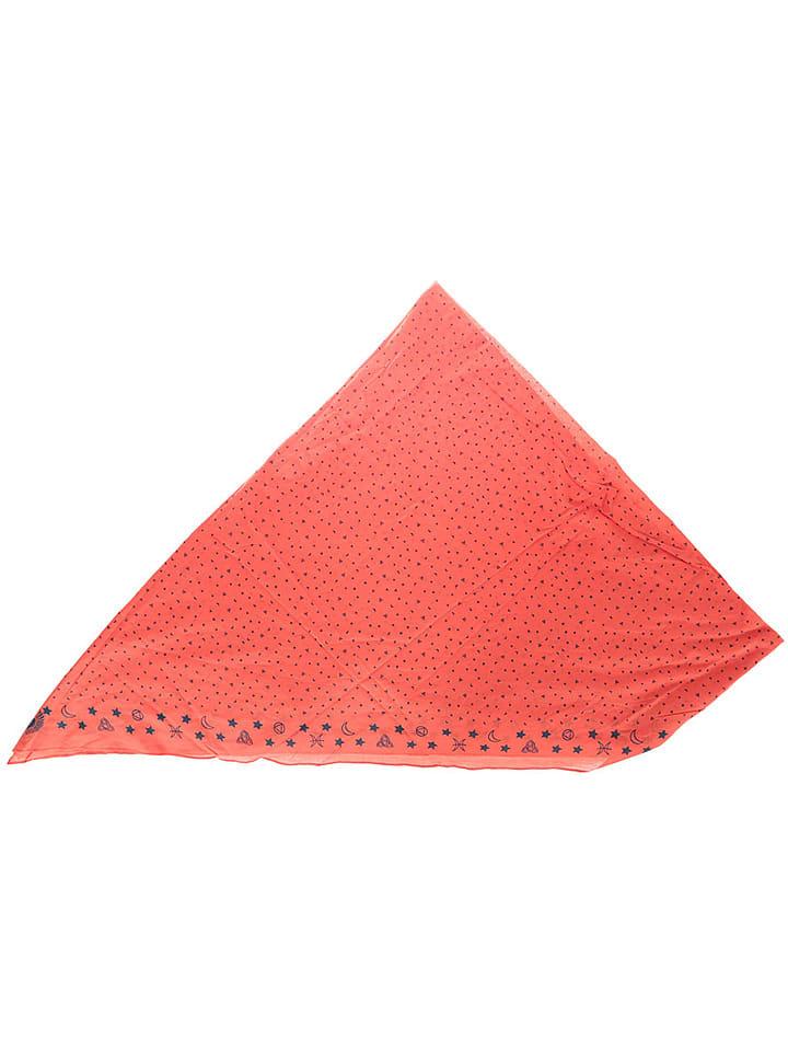 Buff Sjaal rood - (L)95 x (B)75 cm