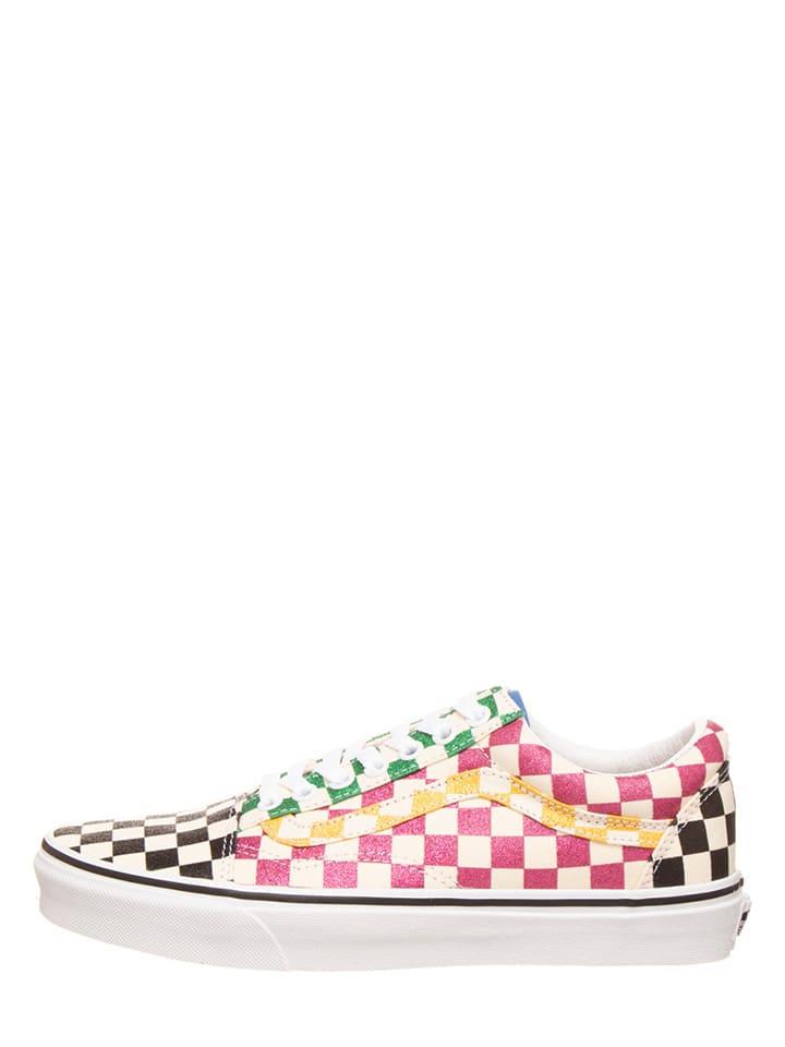 """Vans Sneakers """"Old Skool"""" crème/meerkleurig"""