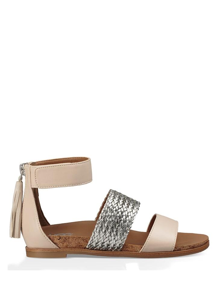 """Sandalen """"Metalli"""" beige"""