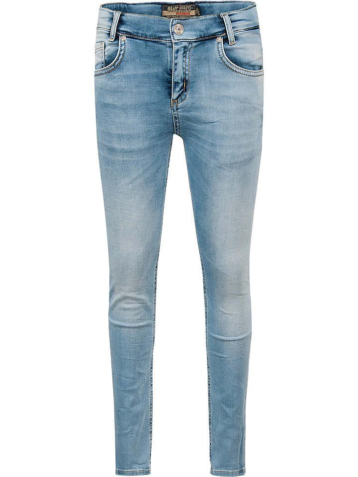 Spijkerbroek lichtblauw