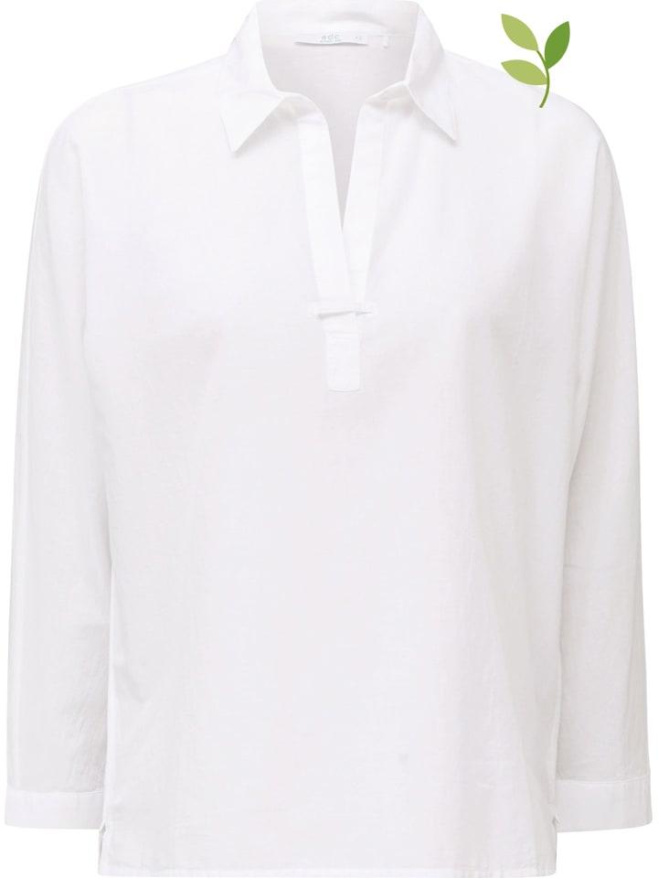 ESPRIT Koszula w kolorze białym
