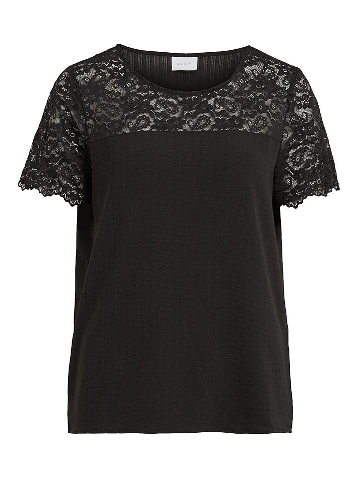 """Vila Shirt """"Lovie"""" zwart"""