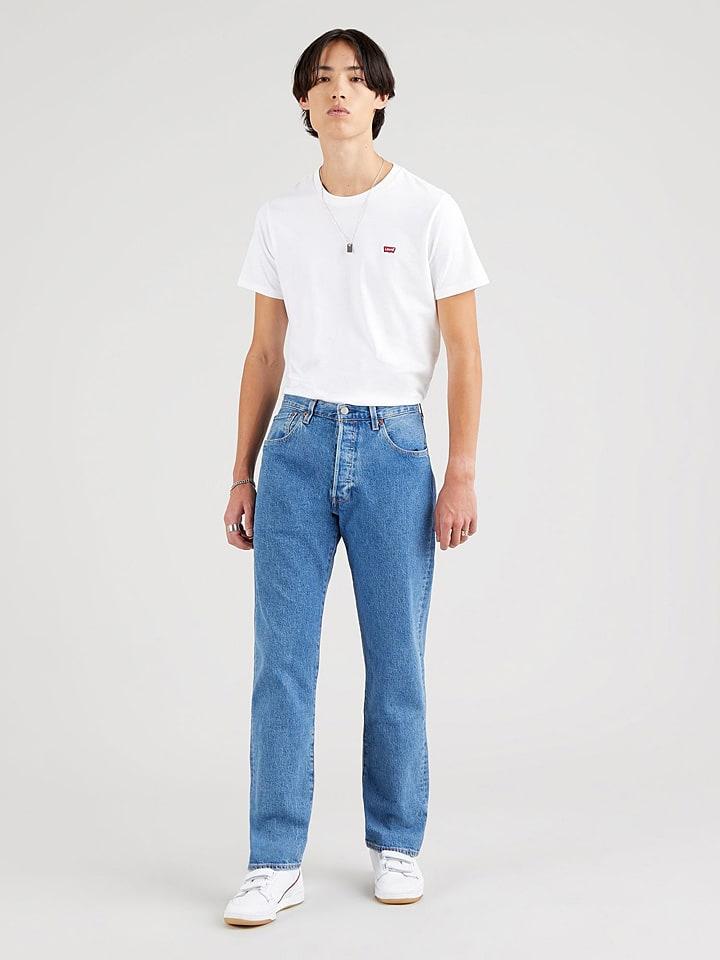 """Levi´s Dżinsy """"501 '93"""" - Regular fit - w kolorze niebieskim"""