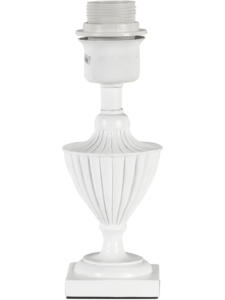"PR Home Lampenvoet ""Pollino"" wit - (H)24 x Ø 7,5 cm"
