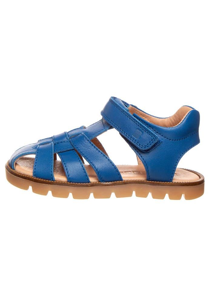 BO-BELL Leren sandalen blauw