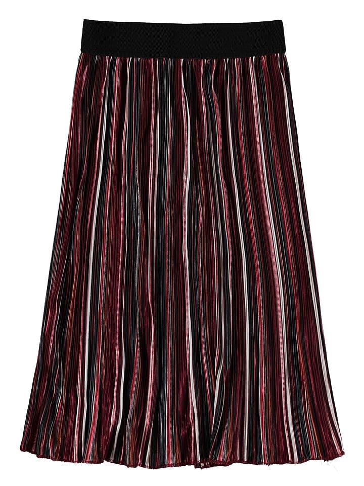Garcia Spódnica w kolorze czerwonym ze wzorem